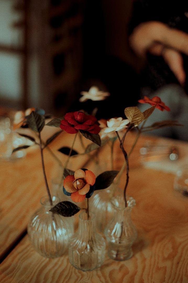 Votre fleur en papier