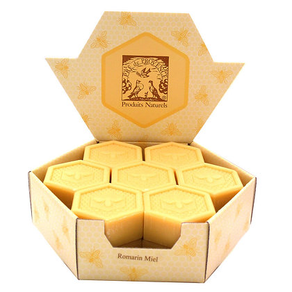 Natural Honey Comb French Guest Soap Set