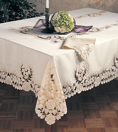 Dutch  Lace Table Topper Set