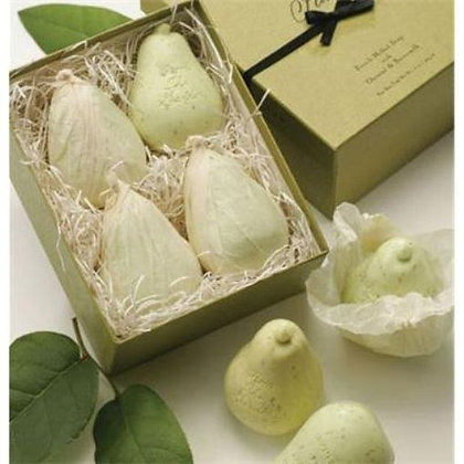 French Green Pear 4-PC Soap Gift Set