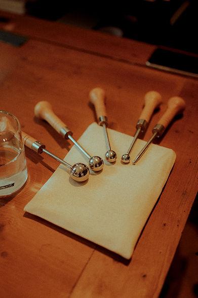 Atelier Découverte fabrication fleur papier Diane Cornu Horticulture Papier les mandrins ou fer à bouler