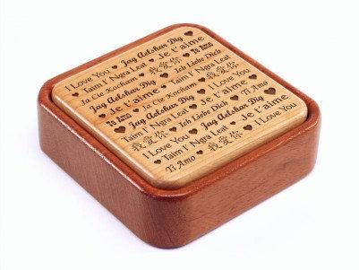 Love Says Love Keepsake Box