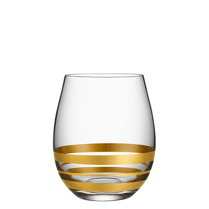 Gold Stemless Wine