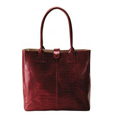 Deluxe Leather Ladies Business Tote