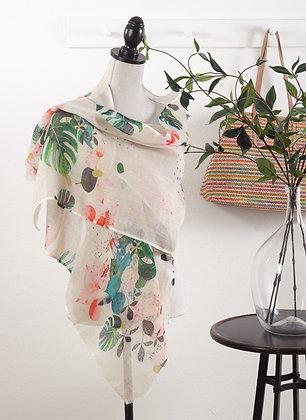 Foliage Linen Shawls
