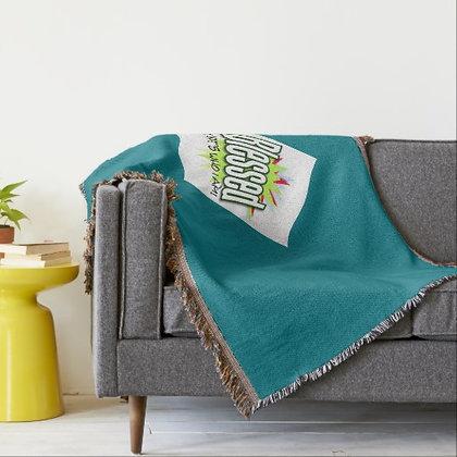 Plush Cotton Woven Throw Blanket