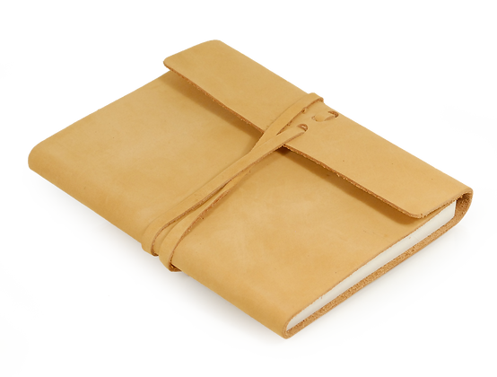 Captures Leather Notebook