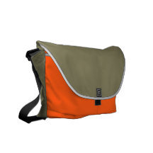 Plush Messenger Tote Bag