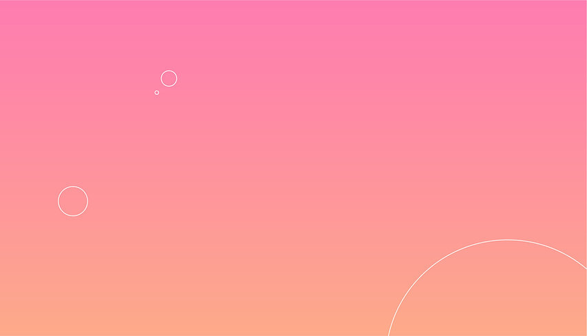 Pink Background with Bubbles