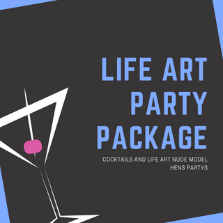 The Cocktail Queen Life Art Hens Party Package