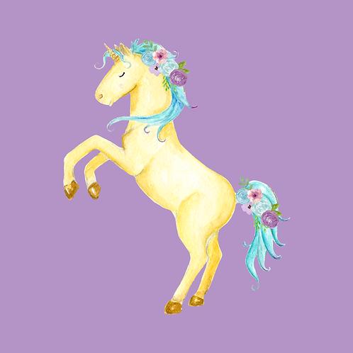 Dancing Unicorn Print (DIGITAL)