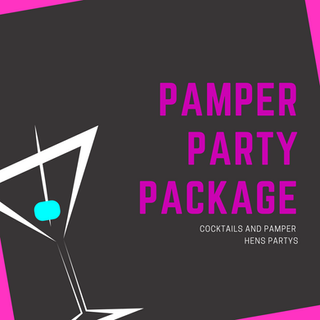 The Cocktail Queen Pamper Hens Party Packages