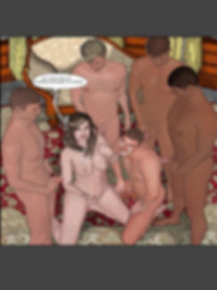A bisex couple fucking with 4 hot guys