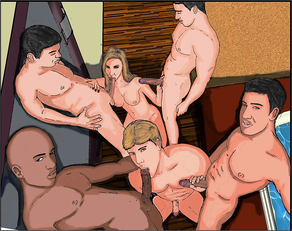 рогоносцы секс рисунки