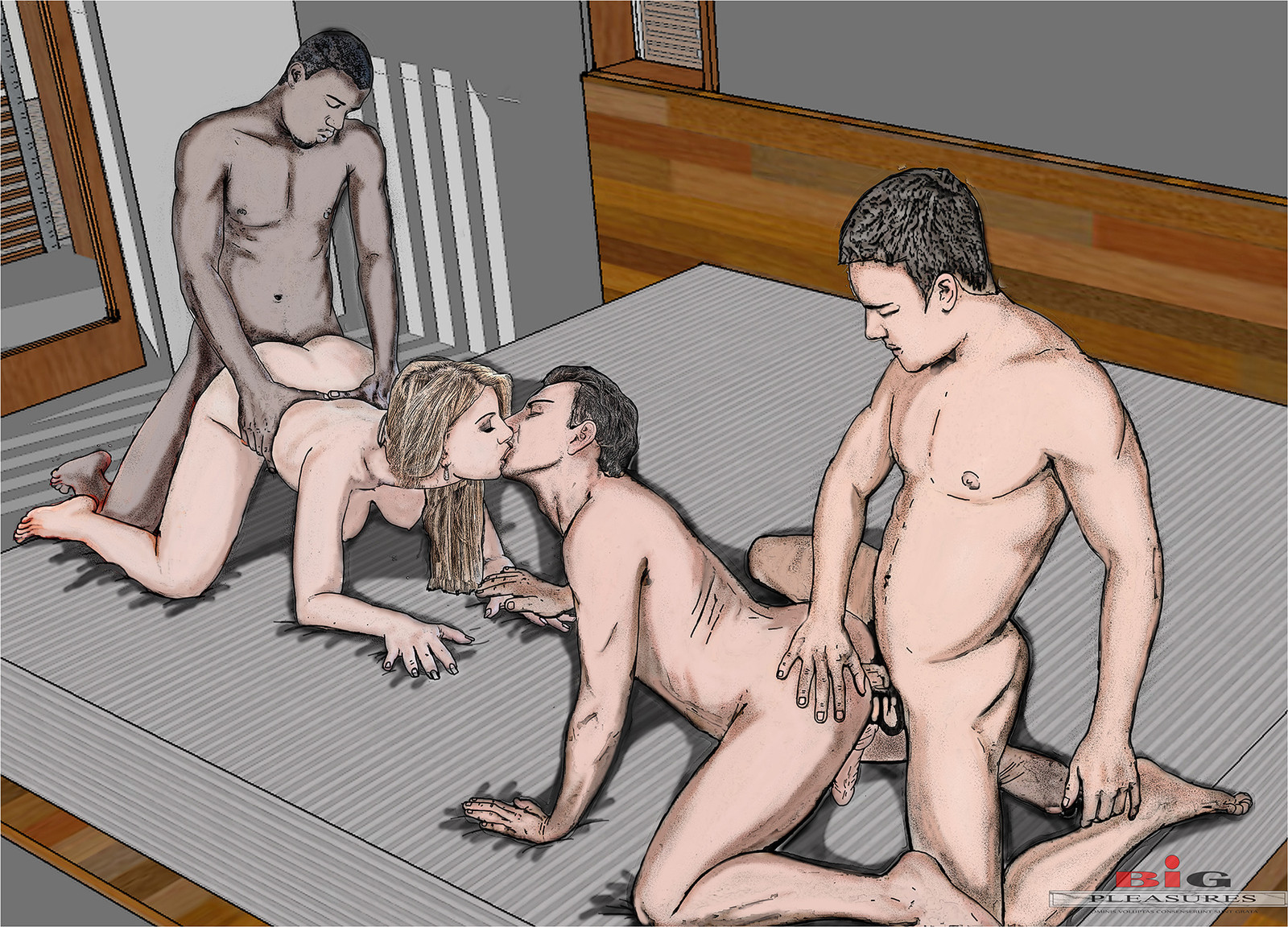 Bi Group Porn 119