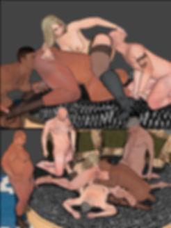 Bisex couple shares cocks old men fucks