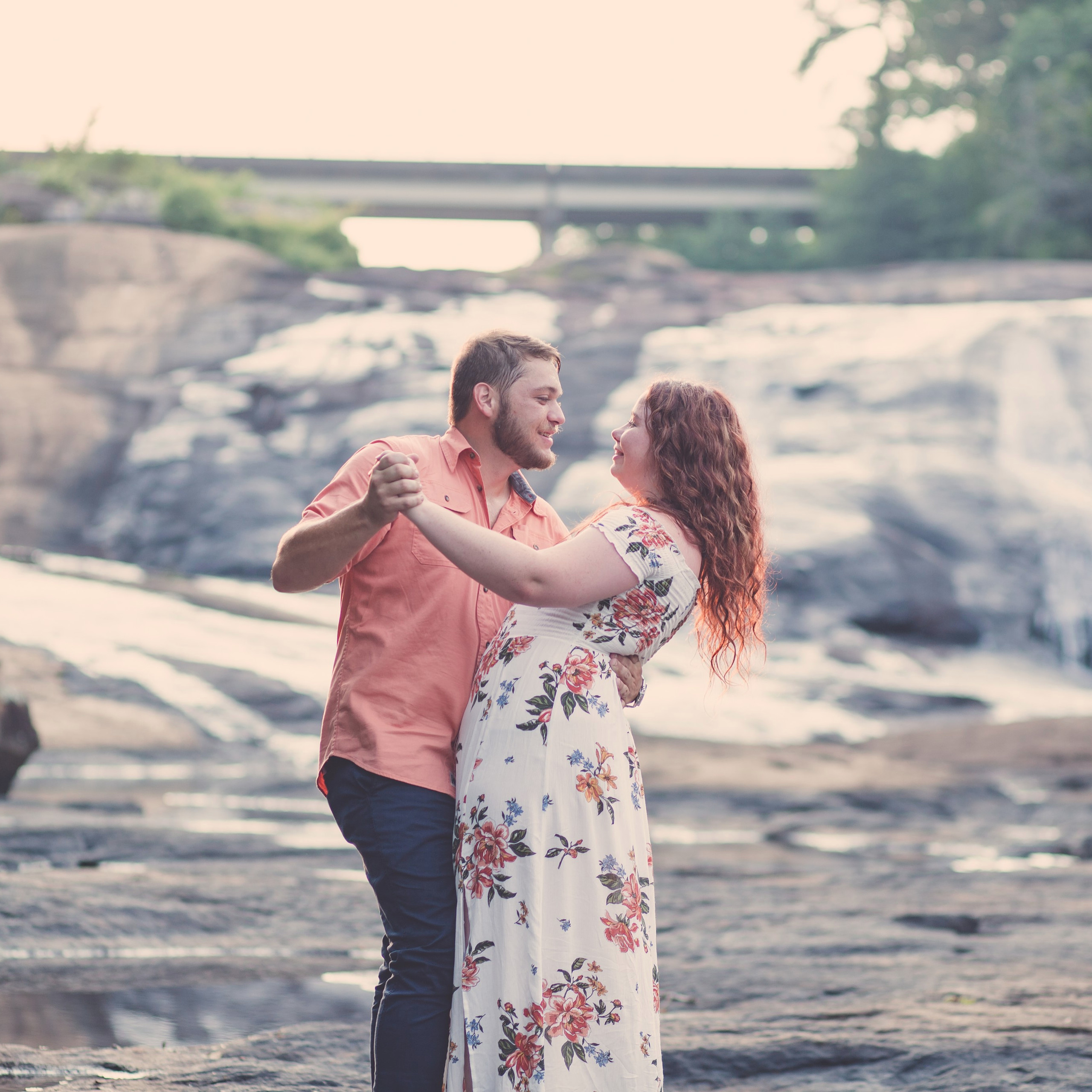 Engagement session at High Falls State Park | Macon, Georgia Wedding Photographer | Warner Robins, Georgia Wedding Photographer | Atlanta, Georgia Wedding Photographer