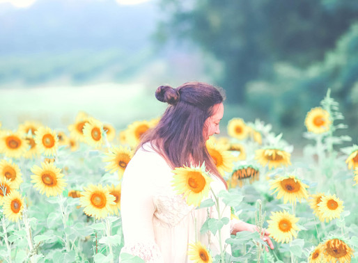 Ariana's Sunflower Field Giveaway Session - Middle Georgia Photographer