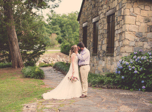 Jordan and Carolyn's Romantic Indian Springs Wedding