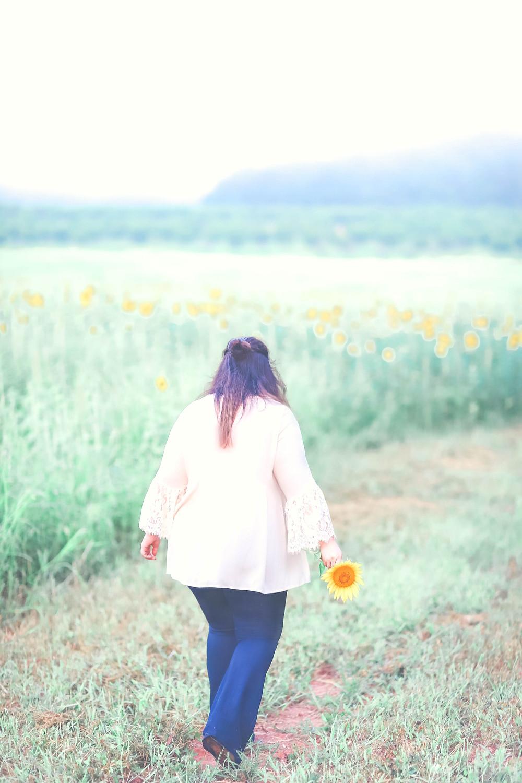 Middle Georgia Sunflower Field Photographer