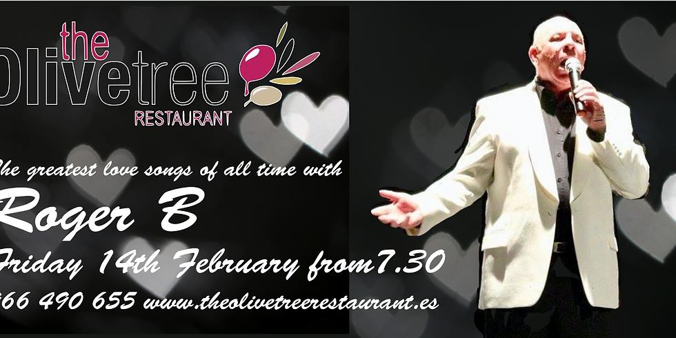 Valentine's night at The Olive Tree