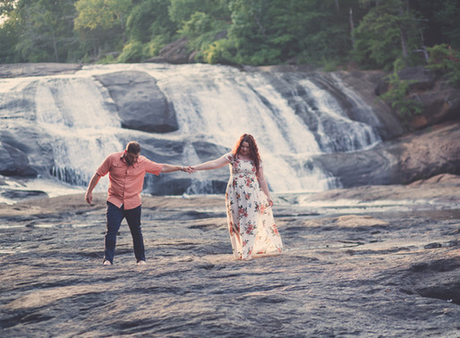 Riley and Josh | Engagement Session at High Falls State Park | Macon, Georgia Wedding Photographer