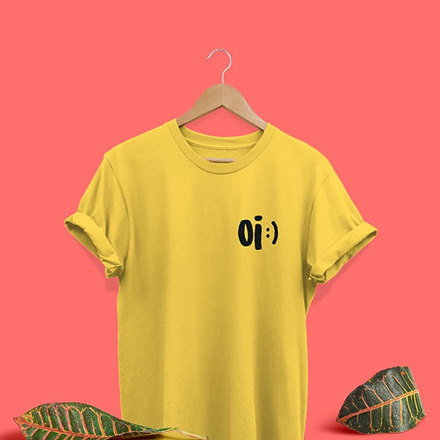 Camiseta Oi :) - PRÉ VENDA