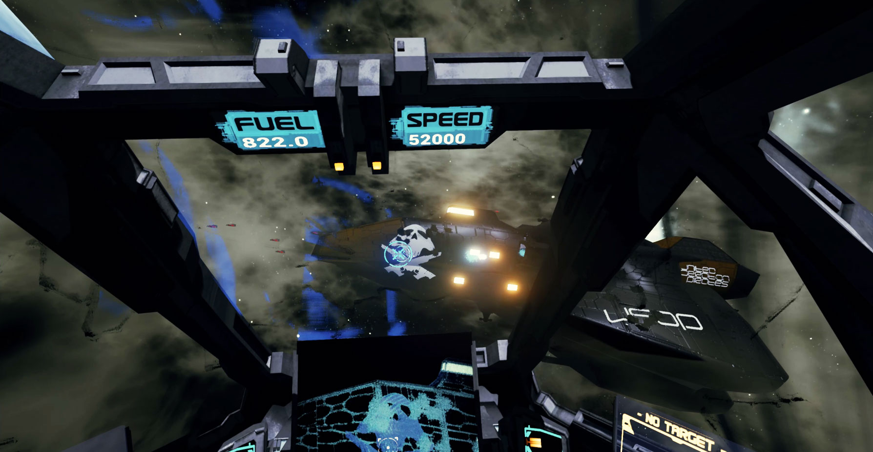 CDF Starfighter : 90s styled space combat simulator designed for VR