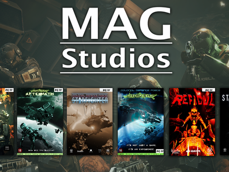All New Mad About Games Studios website
