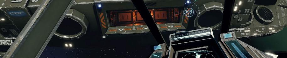 Screenshot of mission end landing