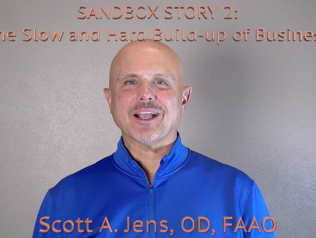 Sandbox Story 2 - The Slow and Hard Build-up of Business