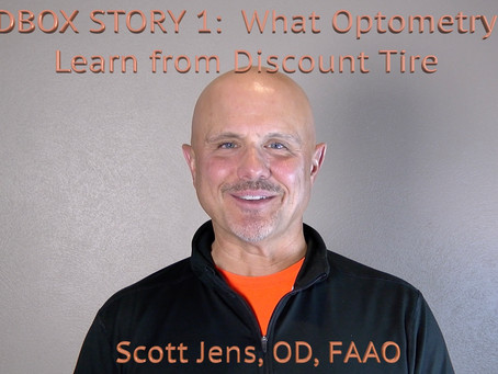 Sandbox Story 1 - What Optometry can Learn from Discount Tire