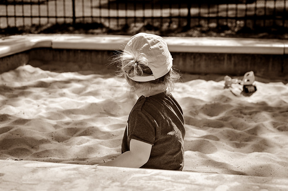 Sepia - Girl in Sandbox.jpg