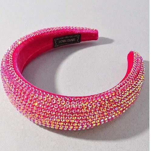 Pave n Pink Headband