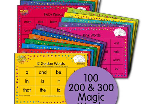 Magic Words Placemats - NEW