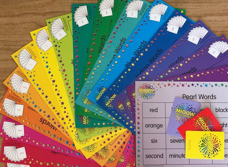 Magic Words Placemat Games