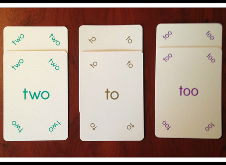 Spelling tricky words with Magic Words