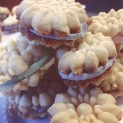 Stuffed Butter Cookies