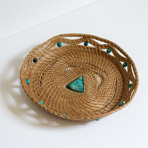 """Pine Needle Basket, """"Olivia"""""""
