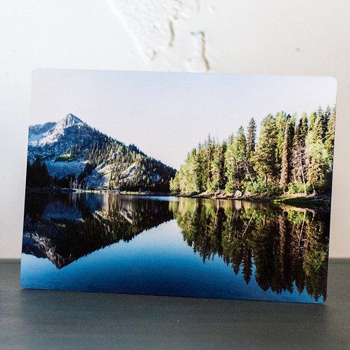 Idaho, vivid metal photograph