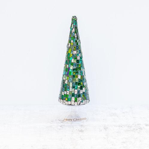 Glass Mosaic Christmas Tree