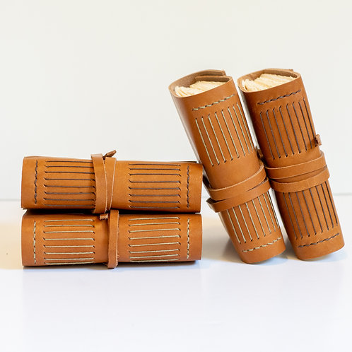 Handcrafted Fine Leather Journals, medium