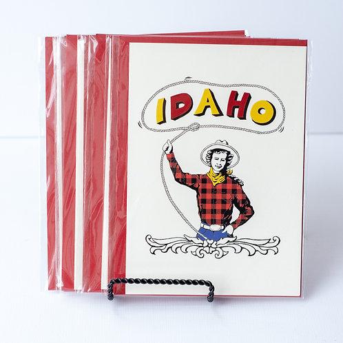 Idaho Cowgirl Card