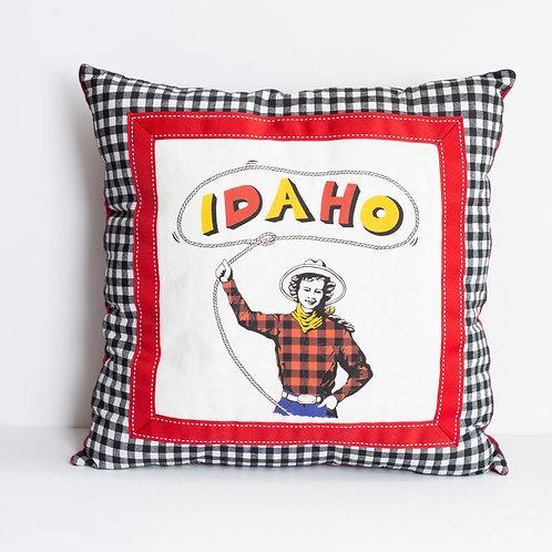 Idaho Cowgirl Pillow