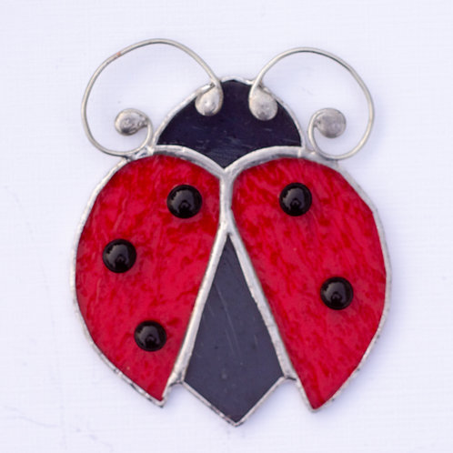 Stained Glass Ladybug