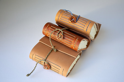 Handcrafted Fine Leather Journals, small