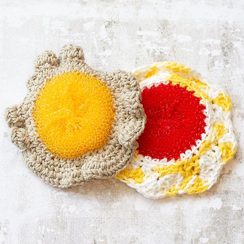 Crocheted Dish Scrubbies