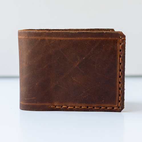 Handcrafted Leather Wallet SOLD