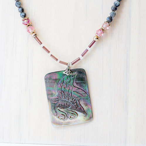 Labrodite Beaded Necklace