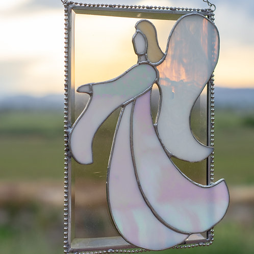 Bevel Angel Stained Glass